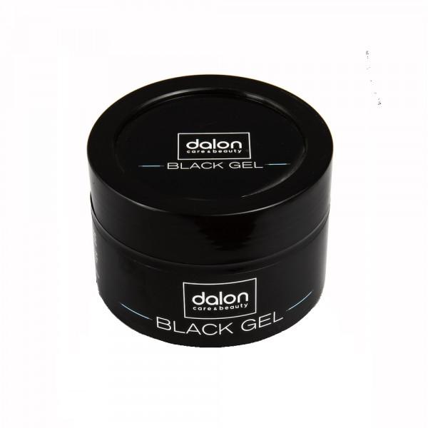 Black Hair Gel