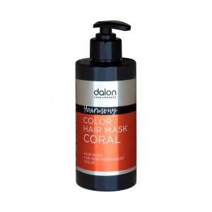 Dalon Hairmony Hair Color Mask - Coral