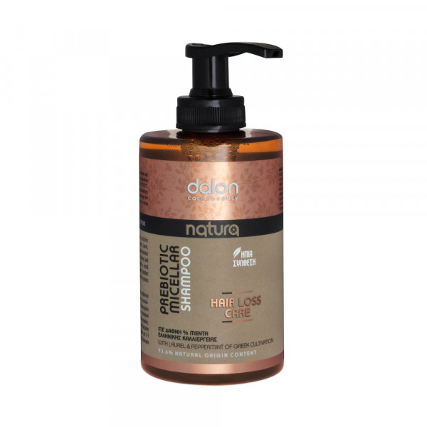Dalon Natura prebiotic micellar shampoo hair loss care