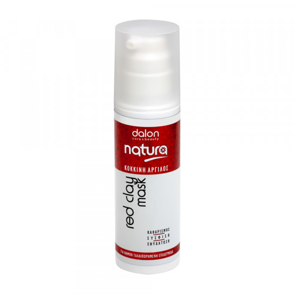 Natura Red Clay Face Mask